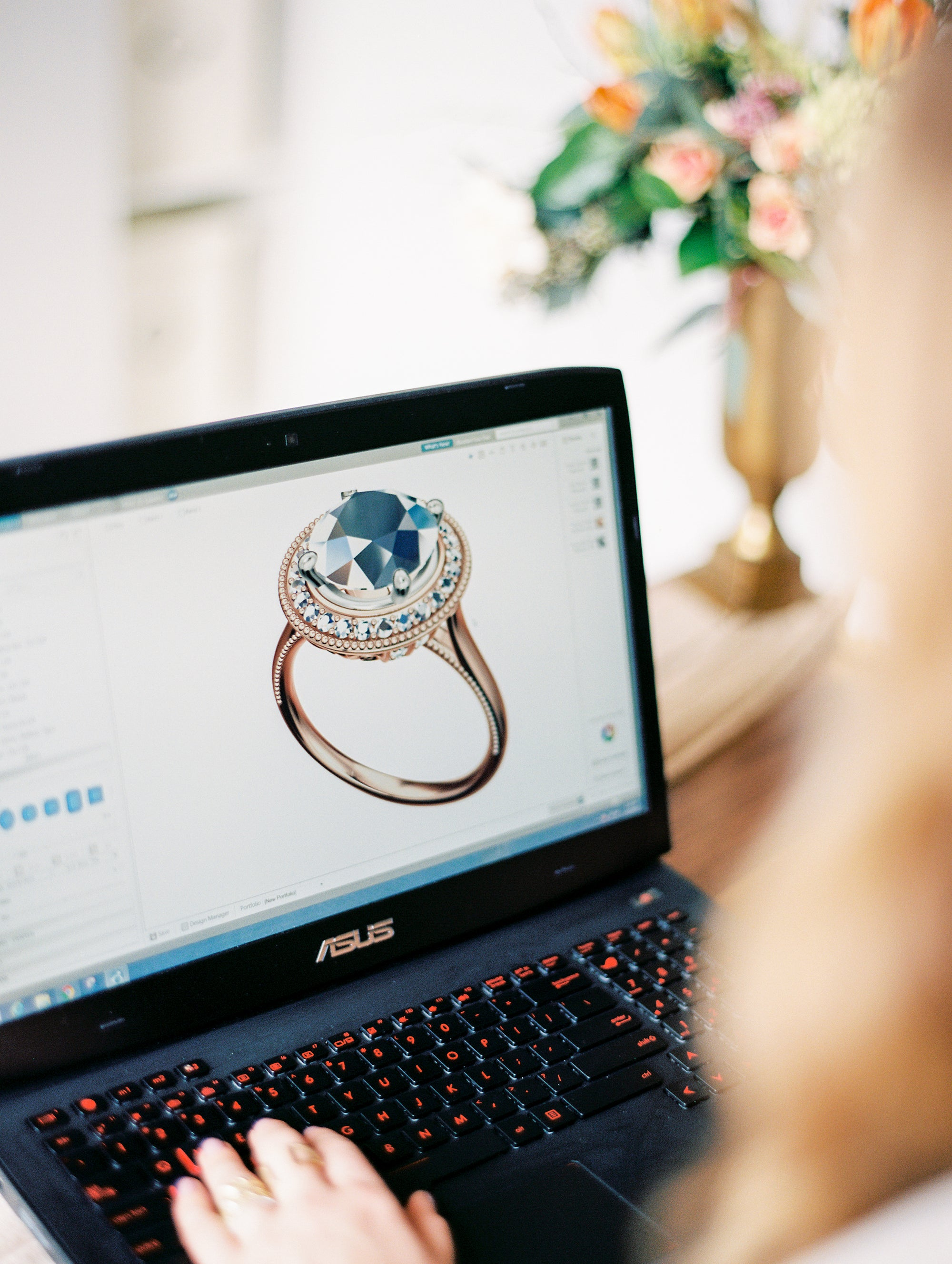 Everything You Need to Know About Creating a Custom Engagement Ring | Philadelphia Jeweler Sells Custom Engagement Rings
