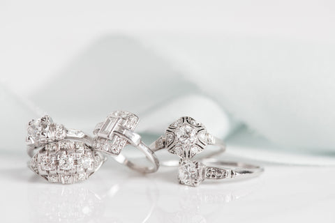 Ethically Sourced Antique Engagement Rings