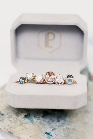 gemstone engagement rings and diamond custom engagement rings