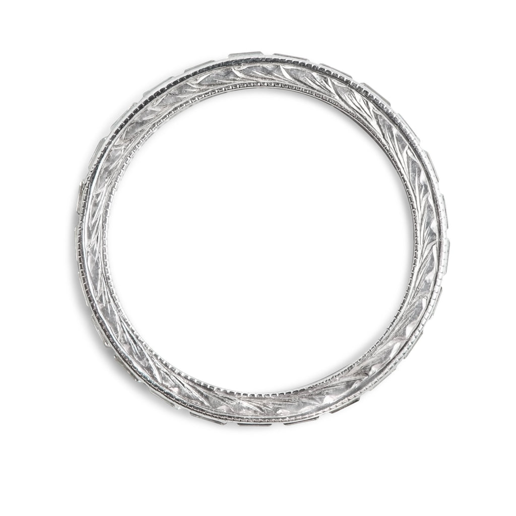 PLATINUM DIAMOND ESTATE ETERNITY WEDDING BAND