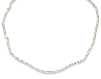 14k yellow gold freshwater pearl necklace 15in long