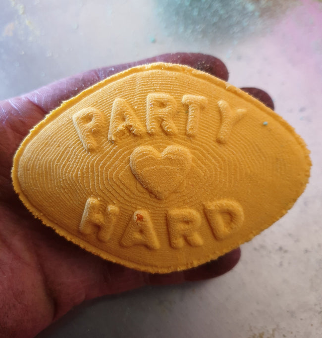 Party Hard Bath Bomb Mould