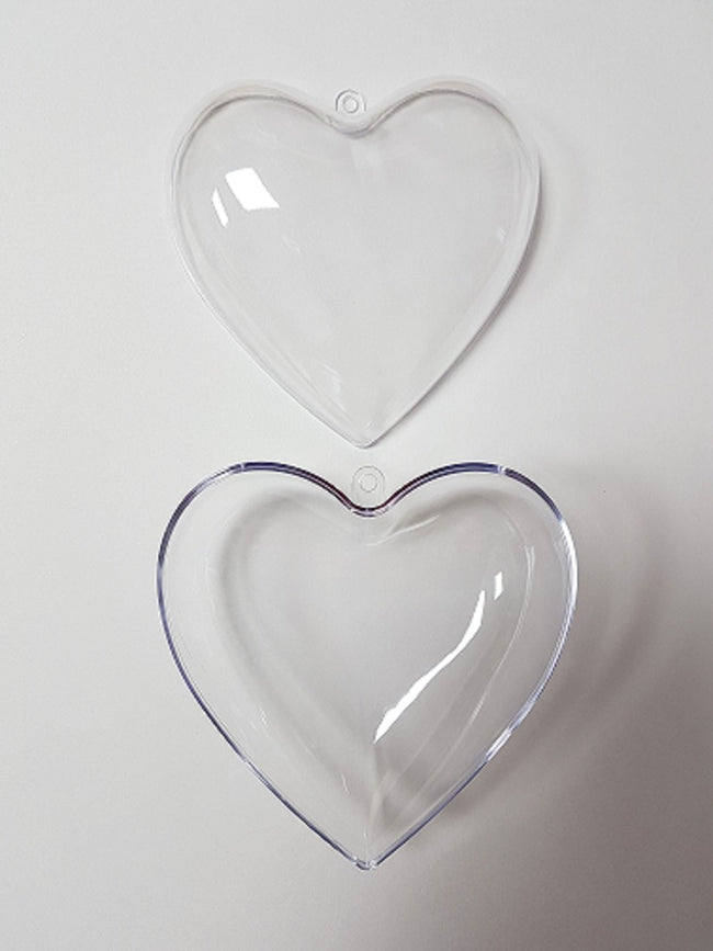 Bath Bomb Mould - Heart 10cm - EazyColours