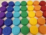 7 Chakra Bath Bomb Mould Set