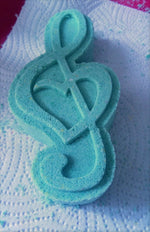 Music Lover Treble Clef Bath Bomb Mould