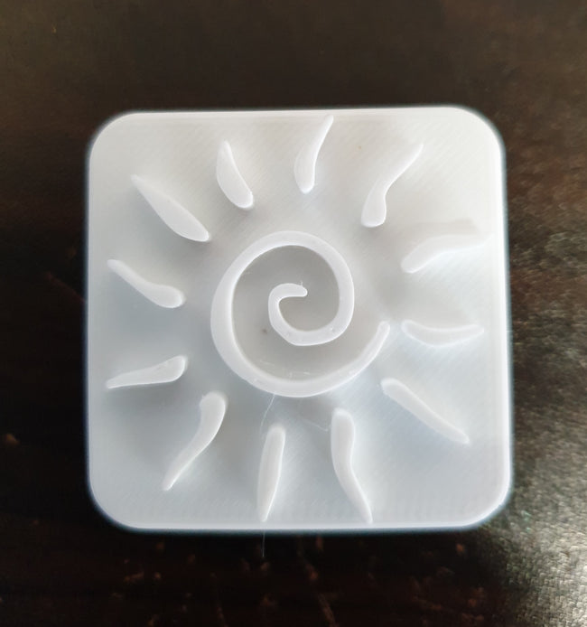 Sunshine Swirl Soap Stamp