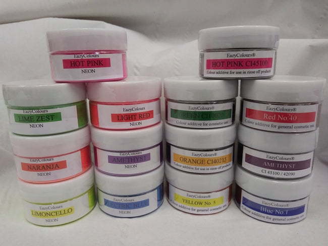 7 Water-soluble + 7 Neon Pack - EazyColours