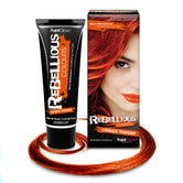 Orange Thunder Hair Dye