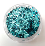Aqua Chunky Biodegradable Glitter - EazyColours