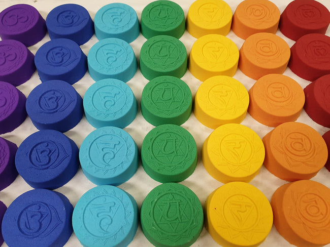 Single Chakra Bath Bomb Mould - EazyColours