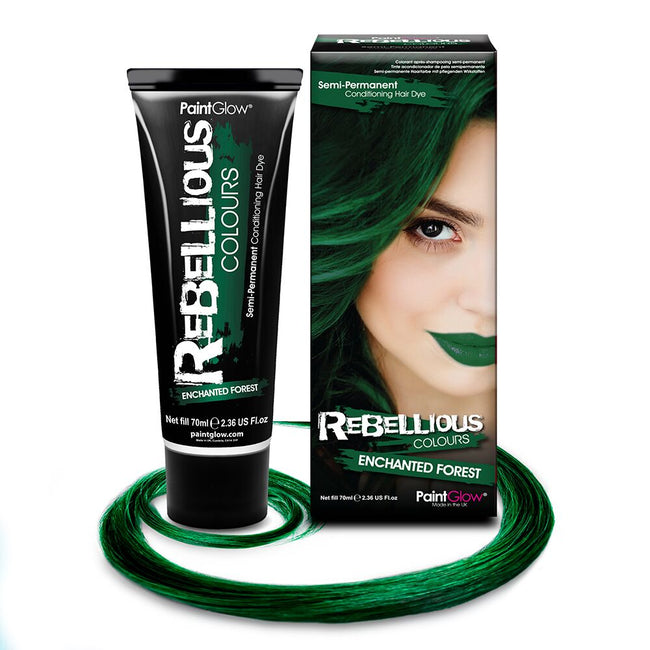 Enchanted Forest Green Hair Dye - EazyColours