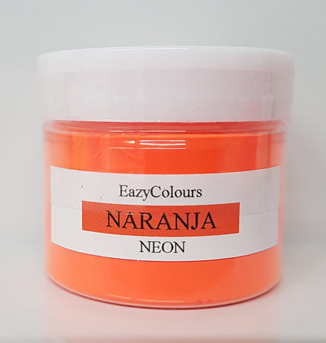 Neon Naranja Soap Colour - EazyColours