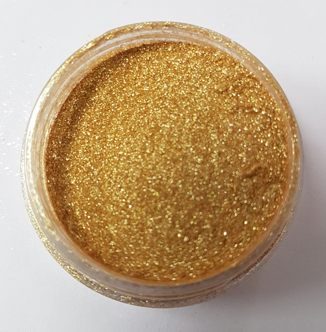 Gold Biodegradable Glitter - EazyColours