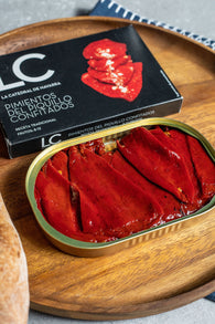 LC Confit Piquillo Peppers (125g) - Spanish Pig