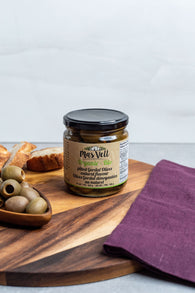 Mas Vell Organic Pitted Gordal Olives (370ML)