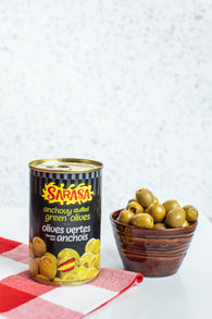 Anchovy Stuffed Manzanilla Olives By Sarasa (300g)