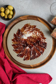 Blazquez Jamon  Iberico Country Fed (50g) - Hand Carved- 50% Iberico- Aged 24 months - Spanish Pig