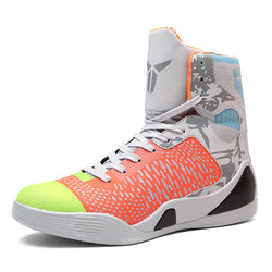 Mens Basketball Sneakers High Top Basketball Shoes For Men Black/Green Shoes