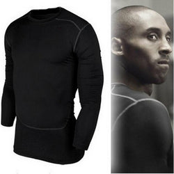 Autumn Fashion Cool Mens Blouse Long Sleeve Shirts Tights Camisa Fitness  Mens Blouse Breathable Compresion Fit Dry Pro Blouse