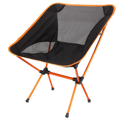 Lightweight Fishing Chair Professional Folding Camping Seat Chair Portable For Picnic Beach Party