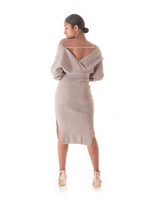 Classic Queen Midi Sweater Dress
