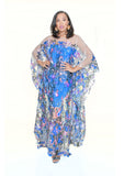 Indian Queen Sequin Caftan
