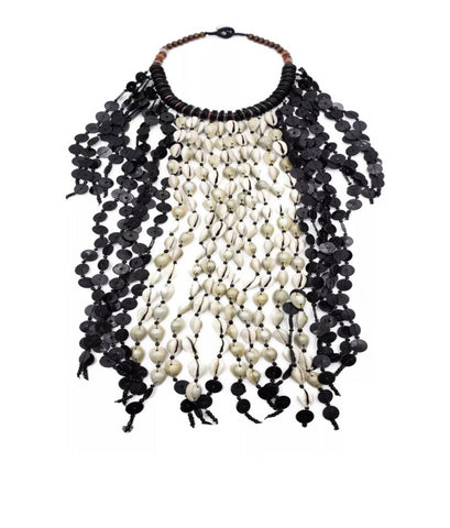 Wakanda Forever Shell Statement Necklace