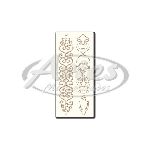 CHIPBOARD 9.5X23 CHL010