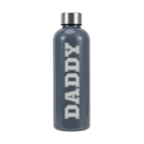 Personalised Insulated Drink Bottle 500ml | Slate Grey