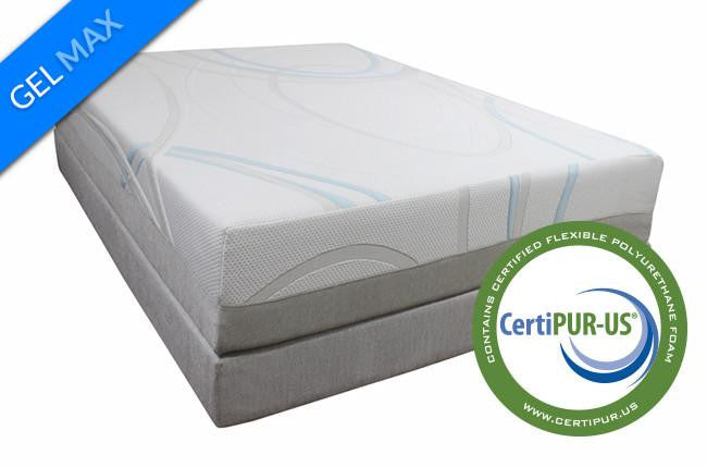 GEL-MAX Memory Foam Mattress