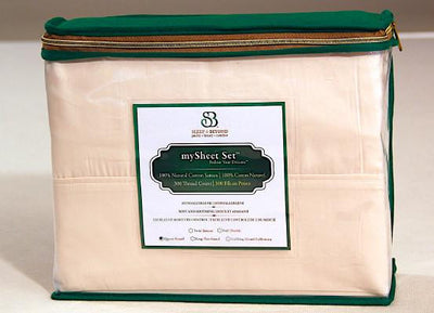 100% Natural Sateen Cotton Sheets