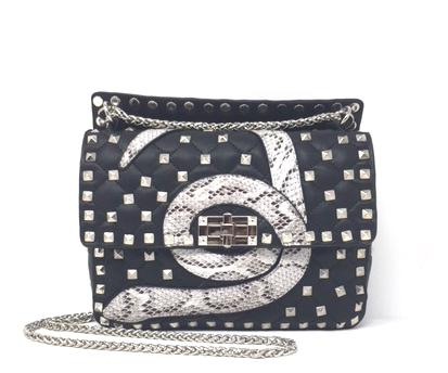 Look Alike Studded Handbag