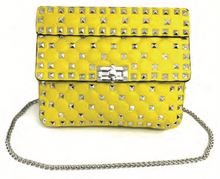Top Handle studded Handbag