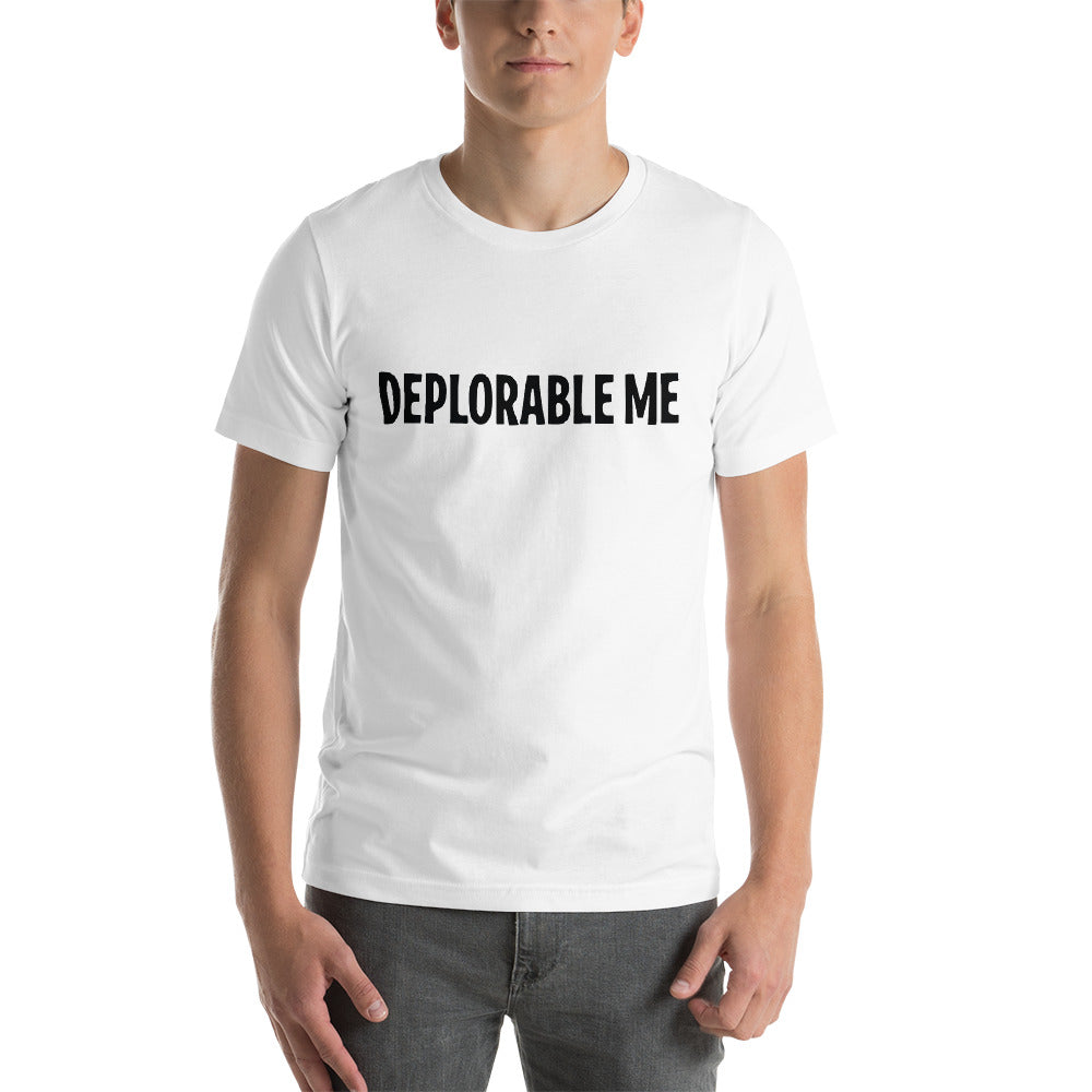 Deplorable Me  Short-Sleeve Unisex T-Shirt Trump  2020 - Tremendos Dsigns