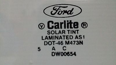 1964-1968 Ford Mustang, 67-68 Cougar Windshield, Genuine Carlite