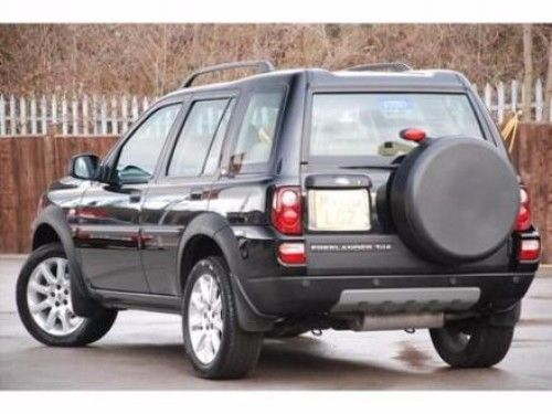2000-2005 Land Rover Freelander Rear Back Glass, Heated w/ Green Tint
