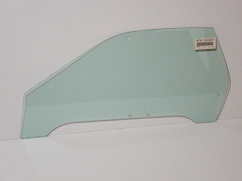 1986-1991 Mazda RX7 Coupe Driver's Door Glass, Blue Tint