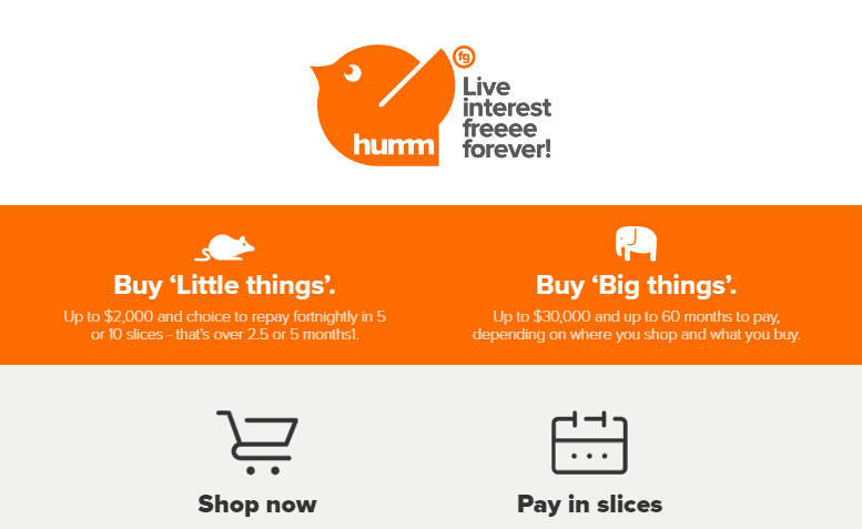 Introducing Flexigroup Humm Pay - Buy Now Pay Later