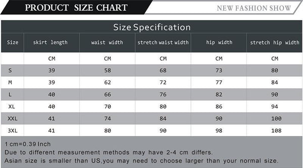 Women Skirt High Waist Pencil Skirts Elastic Slim Office Black Skirt Two styles