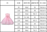 Online discount shop Australia - Flower princess girl dress lace rose Party Wedding Birthday girls dresses clothes princess tutu kids dress elegant 2017