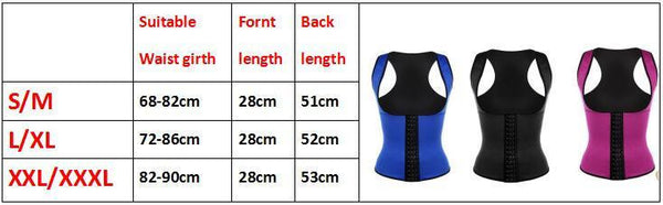 Shapers Stretch Neoprene Vest Slim Underwear waist trainer corset vest Waist Trainer