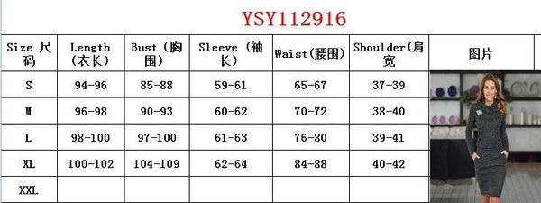 Women Sweater Knitted Office Dress Warm Winter Autumn Turtleneck Long Sleeve *Skinny Knitted Mini Dress