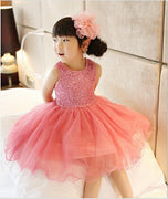Online discount shop Australia - High Quality Baby Girl Dress Lace Vest Dress for Girl Infant Princess Birthday Party Wedding Dresses For Baby Girl Chirstening
