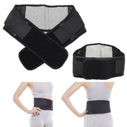 Online discount shop Australia - Adjustable Tourmaline Self-heating Magnetic Therapy Waist Belt Lumbar Support Back Waist Support Brace Double Banded