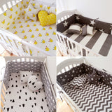 Online discount shop Australia - (1pcs bumper only)Fashion hot crib bumper infant bed,baby bed bumper fashion /star/dot/tree,safe protection for baby use