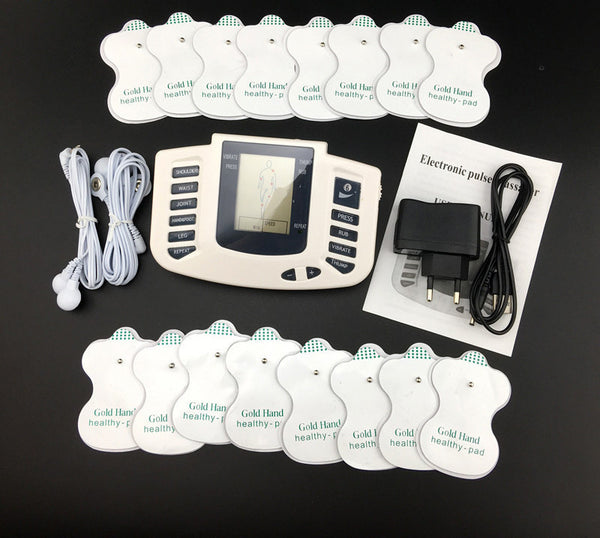 Online discount shop Australia - Electronic Body Slimming Pulse Massage for Muscle Relax Pain Relief Stimulator Massageador Tens Acupuncture Therapy Machine