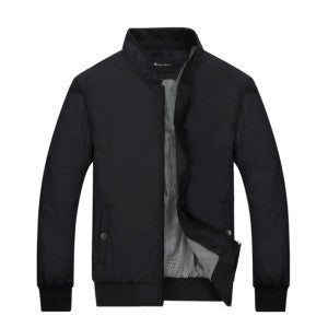 Online discount shop Australia - Men Bomber Jacket Brand Clothing Thin Mens Jackets and Coats Solid Clothing Men Jacket 049