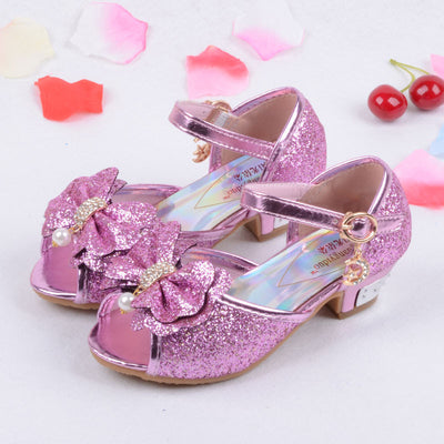 1e6f008ea47e Online discount shop Australia - Children Princess Sandals Kids Girls  Wedding Shoes High Heels Dress Shoes