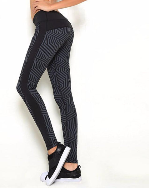 Women Push-up Sporting Leggings Print Fashion Patchwork Elastic Skinny Fitness Leggings Sporting Clothing For Women