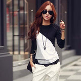 women tops and blouses new fashion long sleeve shirt womens blouse ladies